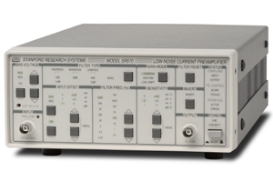 SR570(Low noise current preamplifier)