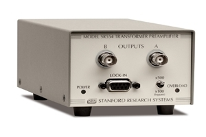 SR554(Transformer preamplifier)